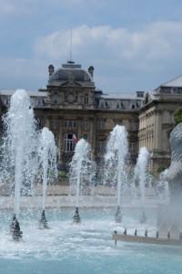 Near Palais des Beaux-Arts of Lille